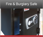 Uscan Fire and Burglary Safe