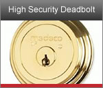Medeco Residential High Security Deadbolt